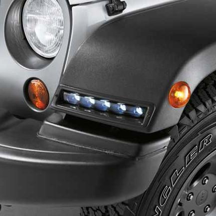 Luci diurne a led originali jeep wrangler for Luci diurne a led