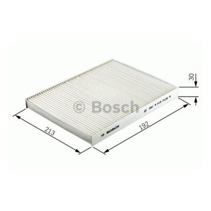 Filtro aria abitacolo bosch for Filtro aria abitacolo camry