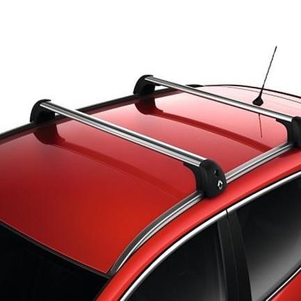 barre del tetto in alluminio su barre longitudinali quickfix originali renault kadjar. Black Bedroom Furniture Sets. Home Design Ideas