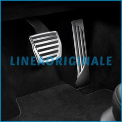 topfit Model S Model X Pedaliera per auto Pedali freno in lega di alluminio Pedali performance