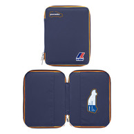 Portadocumenti Panda K-Way Blue con Zip