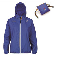 K-Way Giacca Unisex Antipioggia Blue Originale Panda