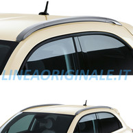 Barre Longitudinali Argento Scuro Originali Fiat 500X Cross e Cross Plus