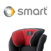 Fodera per Zona Testa per KIDFIX Rosso Chili Originale Smart For Fortwo
