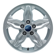 Cerchio in Lega 16 Pollici a 5 Razze Argenti Brillante Originali Ford Tourneo Connect