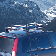 Portasci da Tetto Thule Deluxe 727 Originali Ford Tourneo Connect