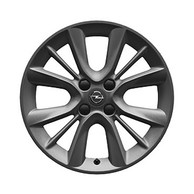 "Cerchio in Lega da 16 Pollici Design ""Triple Cross"" Originali Opel Adam"