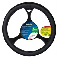 Coprivolante Nero Duo Grip Presa Confort in TPE