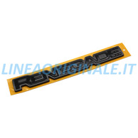 Sigla Renegade Laterale Colore Nero Originale Jeep