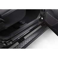 Battitacco in Plastica Nera Originale Jeep Wrangler