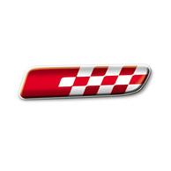 Fasce Paracolpi Laterali con Badge Cromati Originali Fiat 500