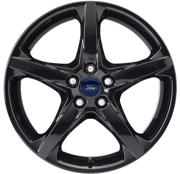 Cerchio In Lega 18 Pollici Nero A 5 Razze Originali Ford C Max