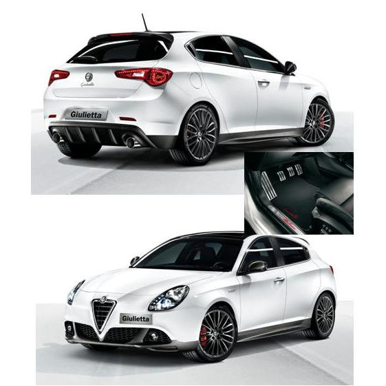 kit promo sport originale alfa romeo giulietta. Black Bedroom Furniture Sets. Home Design Ideas