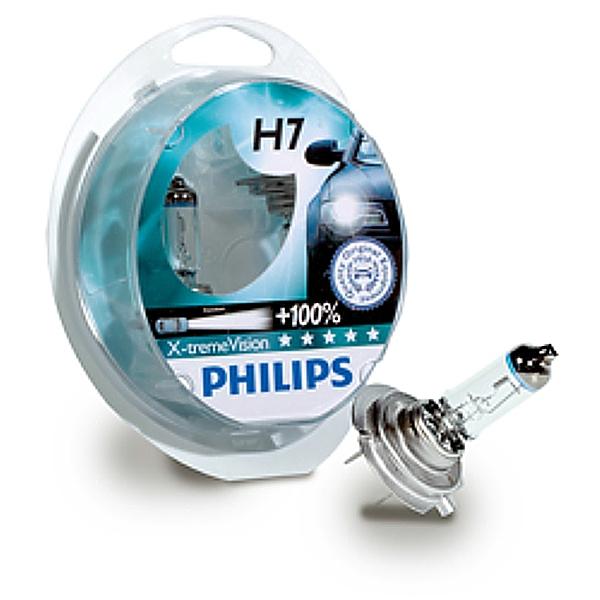 Lampadine Alogene H7 Philips Xtreme Vision Originali Opel Adam