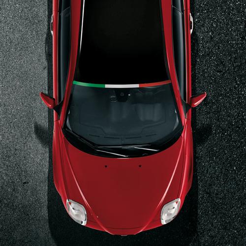 Sticker Bandiera Italia Originale Alfa Romeo MiTo