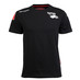 T-Shirt Nera Uomo Manica Corta Kappa for Abarth